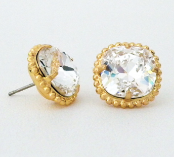 Sorrelli Cushion Cut Earring