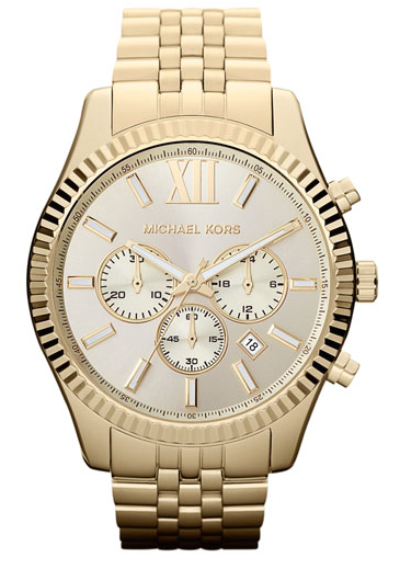 Michael Kors 'Large Lexington' Watch