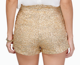 Tobi Diva Sequin Shorts