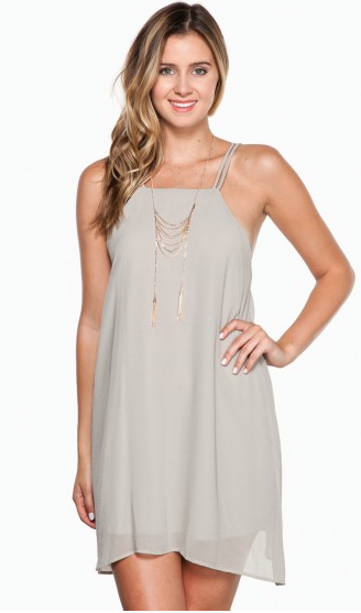 HALLE DRESS IN SAND