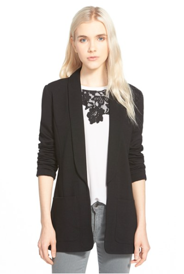 http://shop.nordstrom.com/s/chelsea28-open-shawl-collar-jacket/4029862?origin=keywordsearch-personalizedsort&contextualcategoryid=0&fashionColor=Black&resultback=520