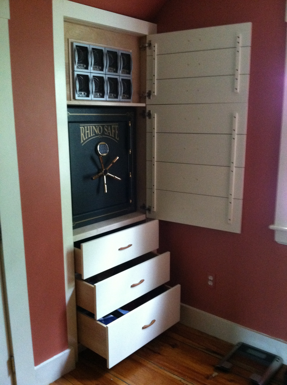 Secret Lock Box Cabinet