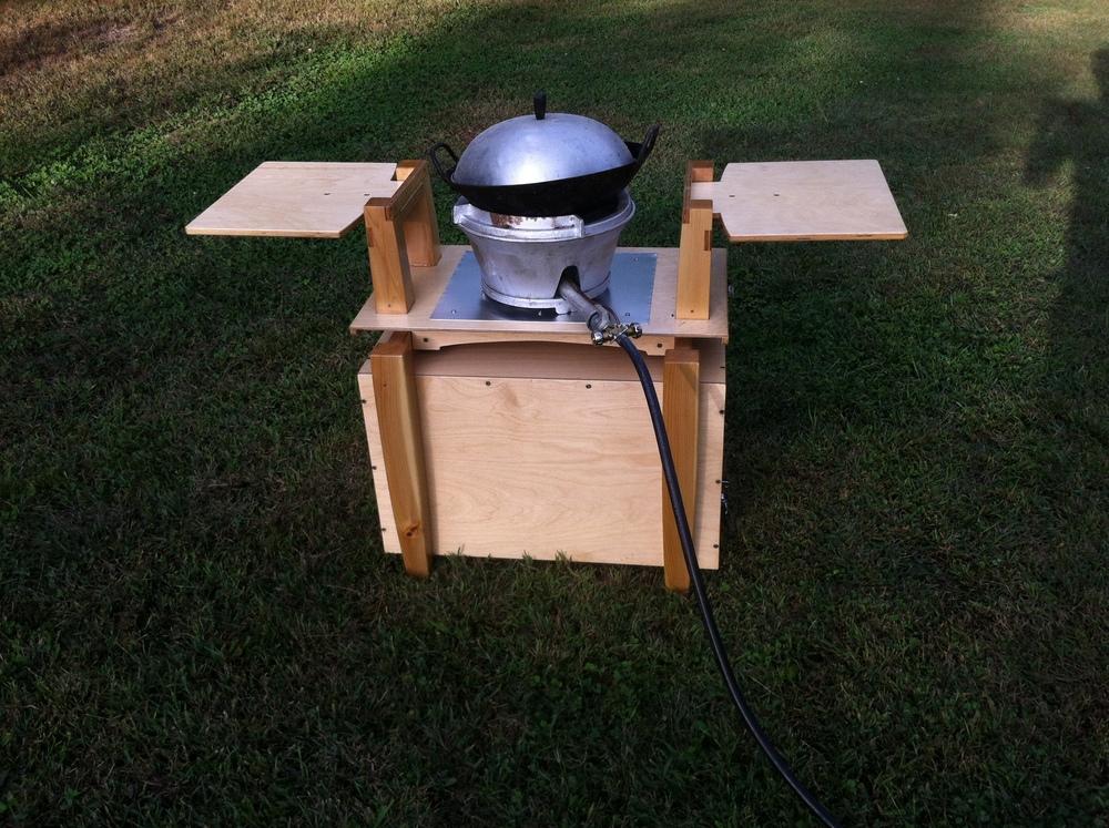 Outdoor Wok Stand