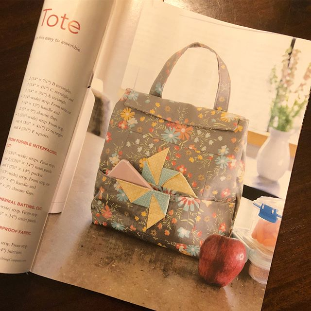 My first project published in a national magazine! Thanks to @the_quilting_company and @fonsandporter for this exciting accomplishment!  Grab the January 2019 issue of Love of Quilting to see the full pattern.