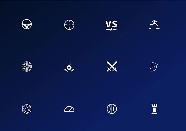 Made a little collection of genre icons •  #iconography #icondesign #ui #gaming #videogames #uiux #adobeillustrator #sketch #vector #uidesign #userinterface
