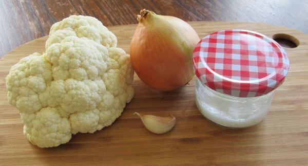 Cauliflower couscous Ingredients