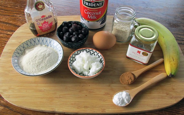 Blueberry Waffles Ingredients