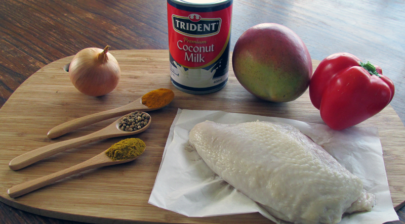 Mango Chicken Curry Ingredients