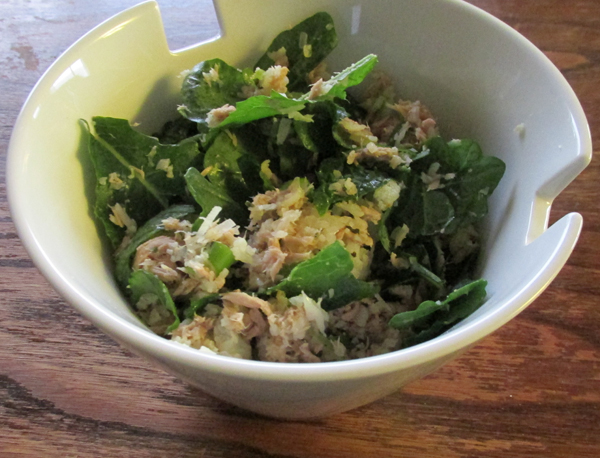 Tuna and Kale Salad