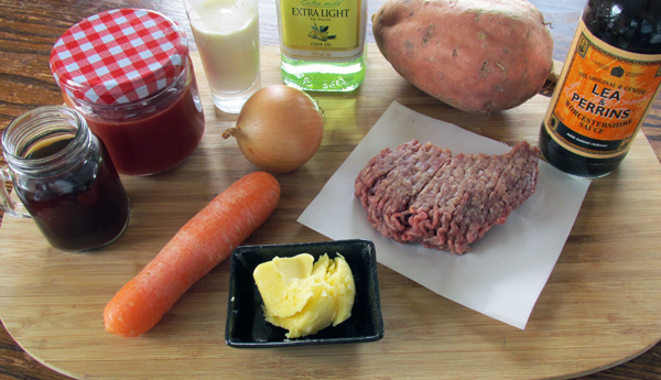 Shepard's Pie Ingredients