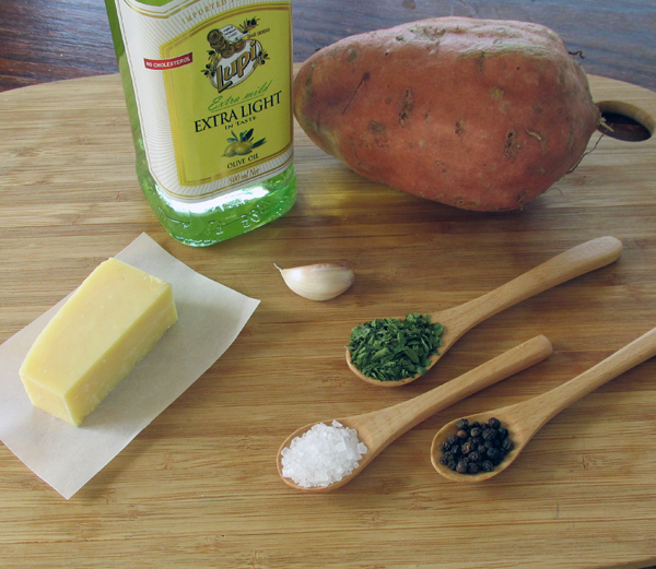 Garlic Parm Fries Ingredients