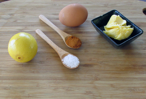 Easy Hollandaise Sauce Ingredients
