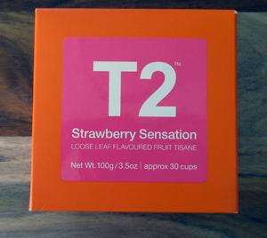T2 Strawberry Sensation Tea