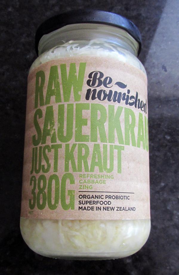 Be Nourished Raw Saurerkraut