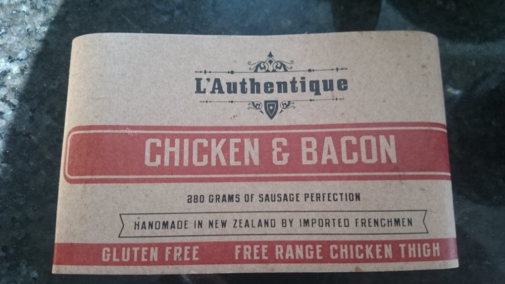L'Authentique Chicken & Bacon Sausages