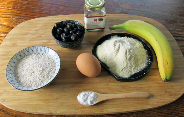Blueberry Pancakes Ingredients
