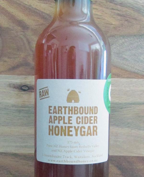 Earthbound Apple Cider Honeygar