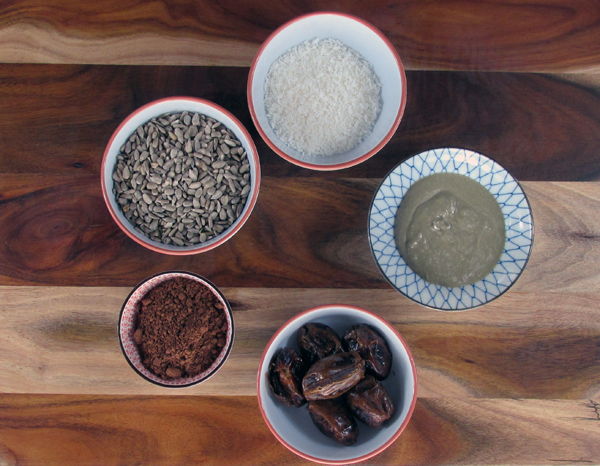 Fudge Ball Ingredients
