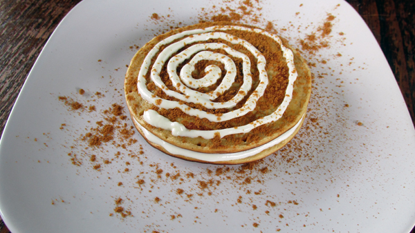Cinnamon-Swirl Pancakes