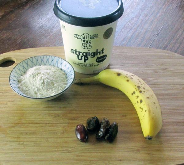 Banoffee Ice Cream Ingredients