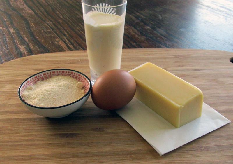 No Crust Quiche Ingredients