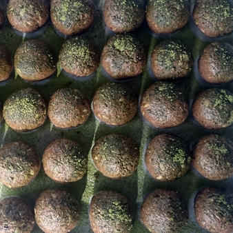 Chocolate Matcha Balls