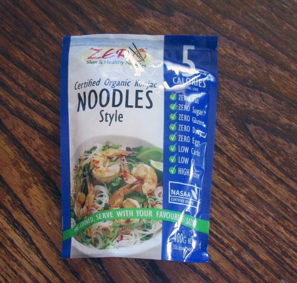 Konjac noodles