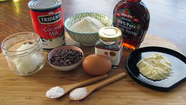 Chocolate Waffle Ingredients