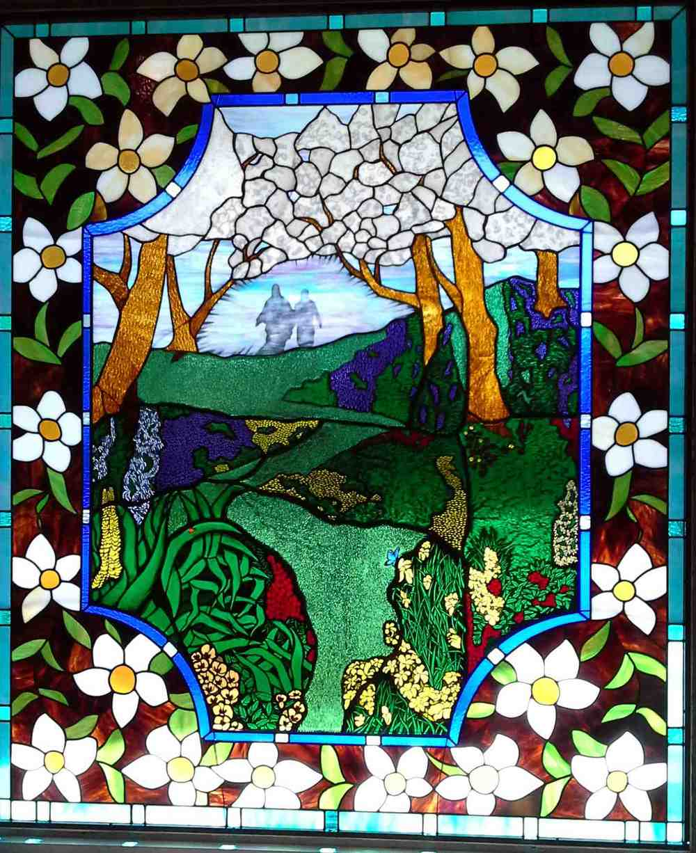 Custom Stained Glass Memorial Window