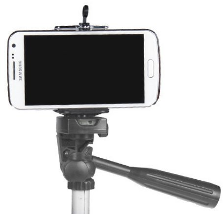 cellphone tripod mount via randomlittlefaves.com