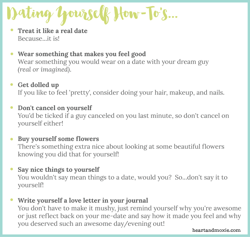 The epic guide to dating yourself and why you should heart so how to do i do this solo dating thing expocarfo