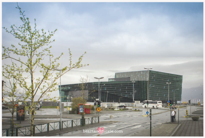 The Harpa Concert Hall & Performing Arts Center