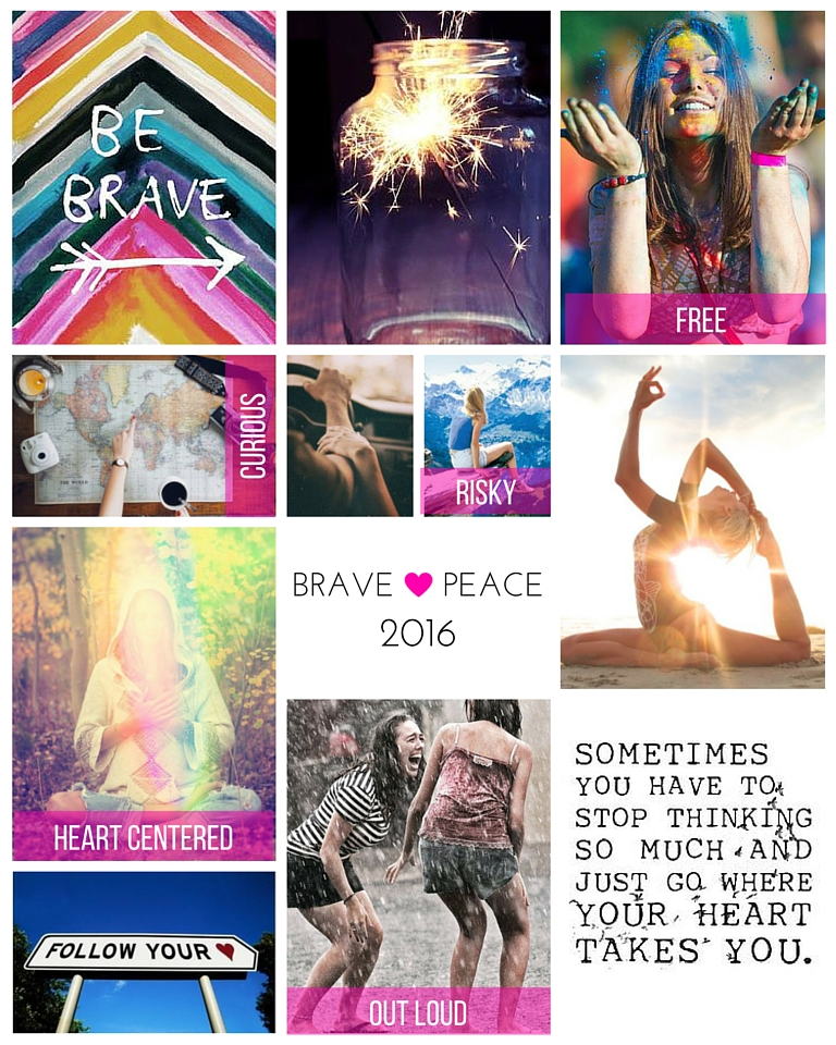 My vision board for 2016!