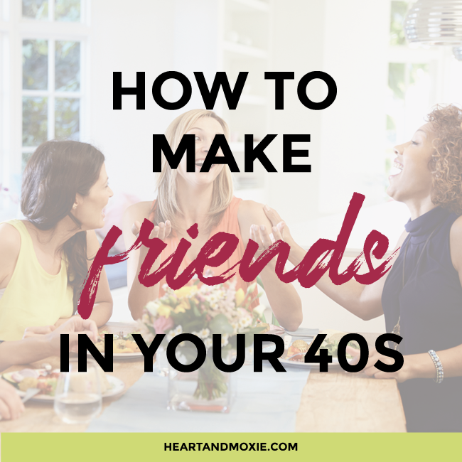 How To Settle Friends In Your 40s