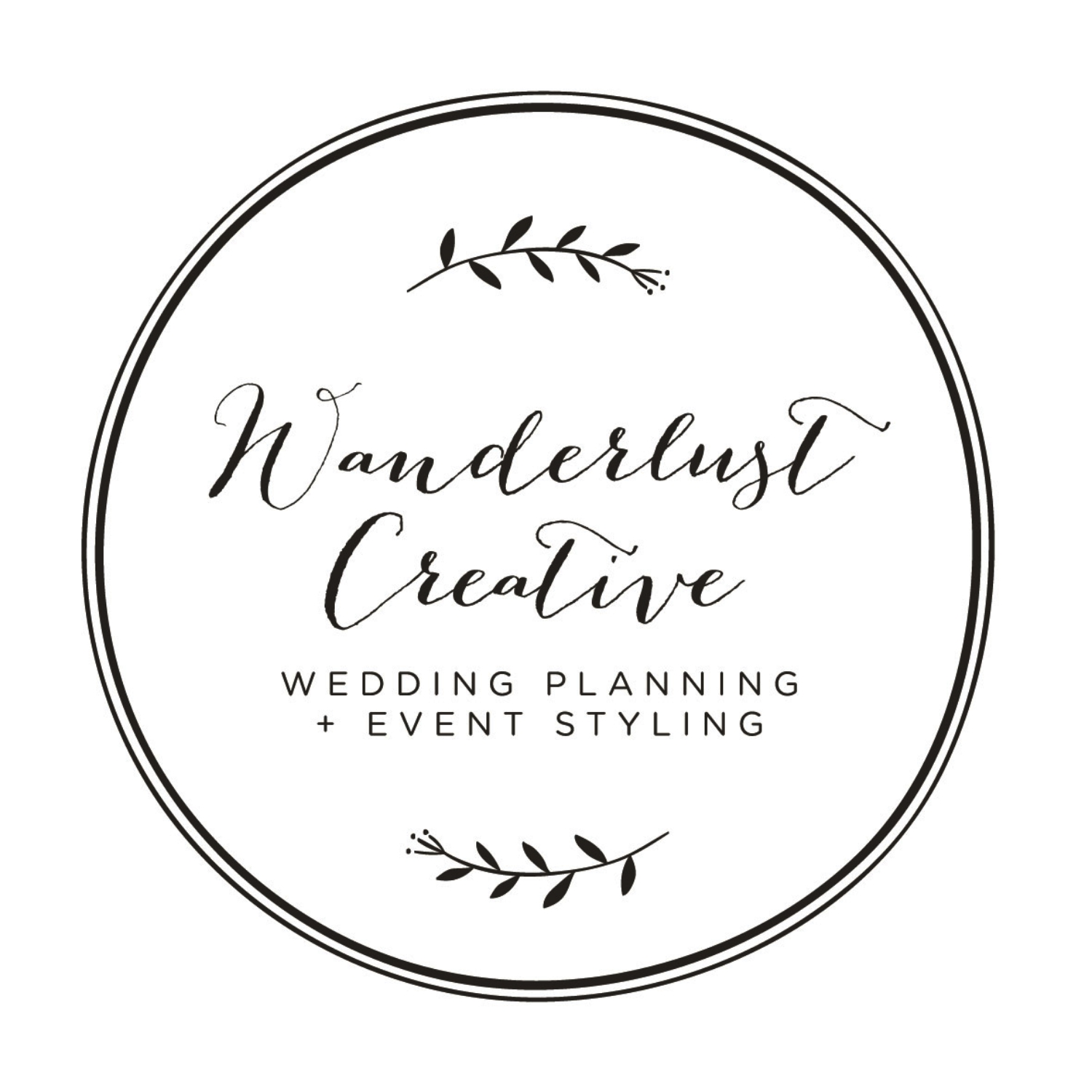 WANDERLUST CREATIVE  Boutique wedding planning and event styling
