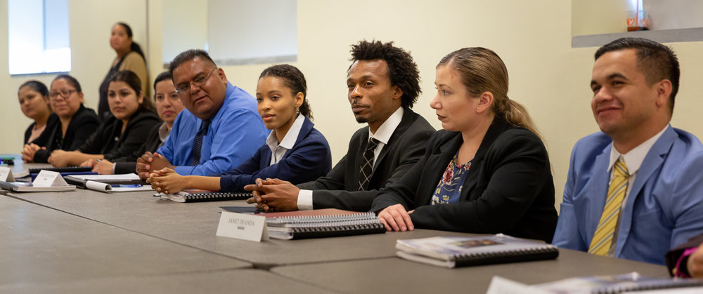 The JVS BankWork$ program is geared to underserved workers without college degrees to break into the banking industry. Photo – Jonathan Barenboim