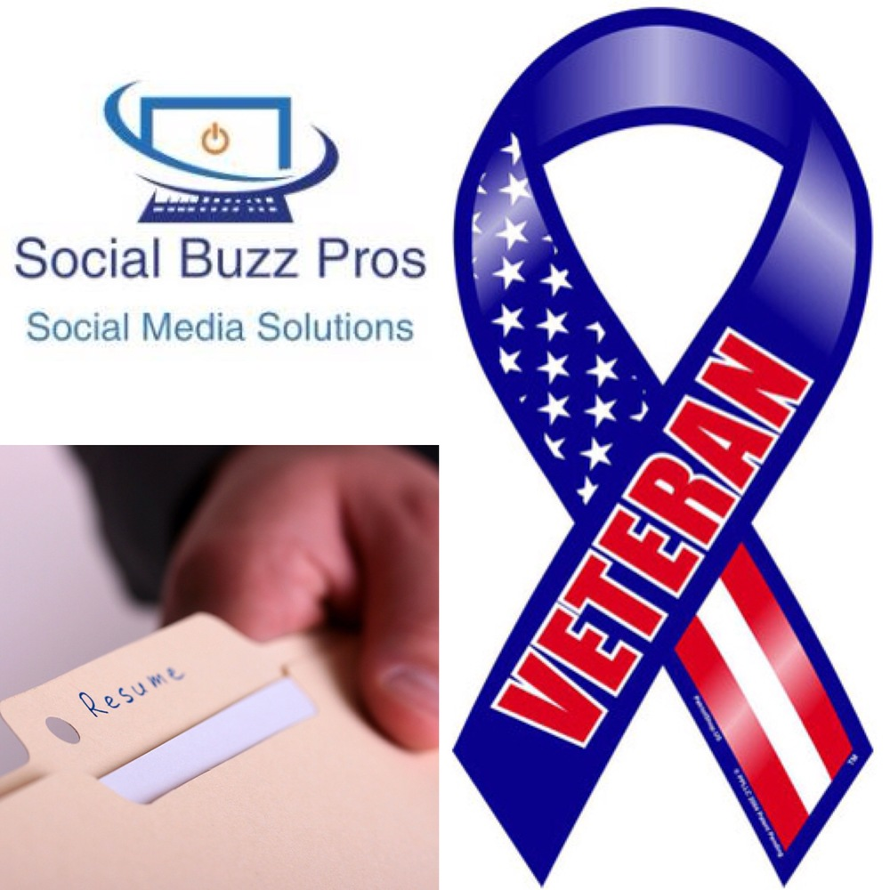 Writing Resumes and Cover Letters for Veterans| Social Buzz Pros