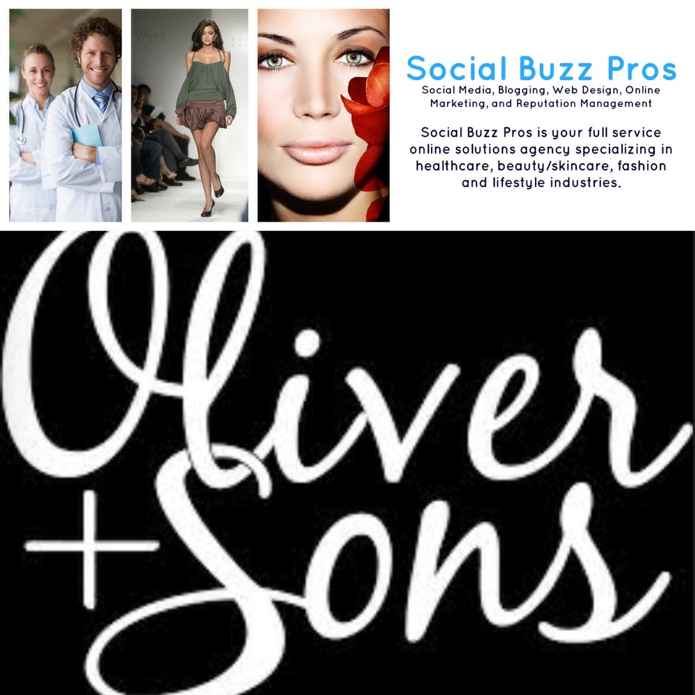 Social Buzz Pros Partners with Oliver + Sons!