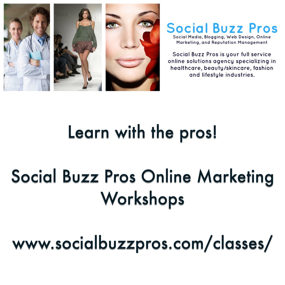 Social Buzz Pros to Hold Online Marketing Workshops