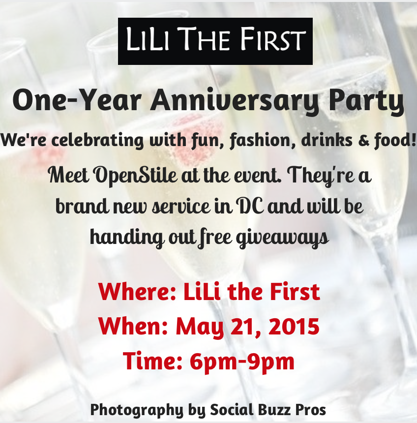 LiLi The First One-Year Anniversary Party