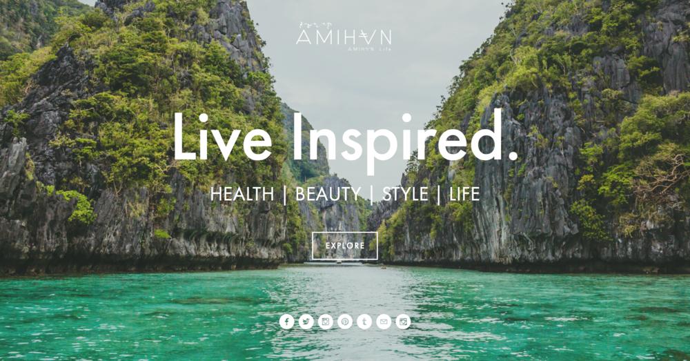 AMIHANlife-webdesign