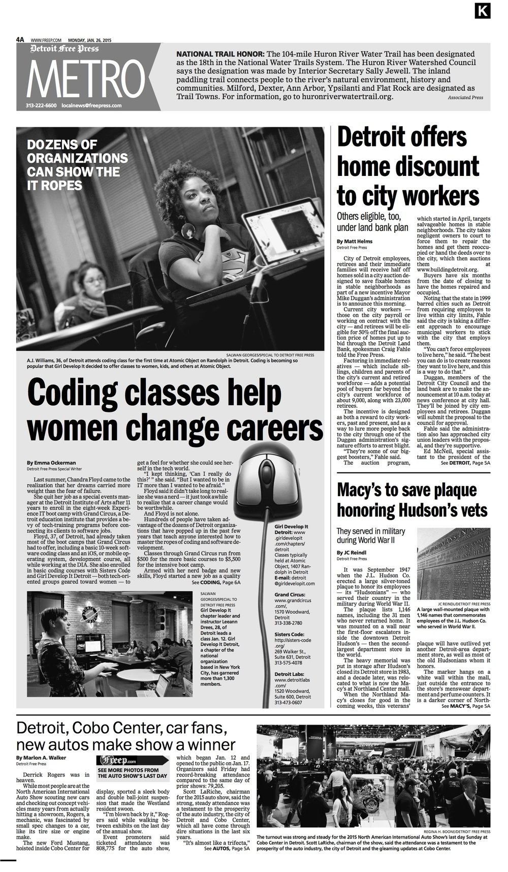 Coding classes help women change career