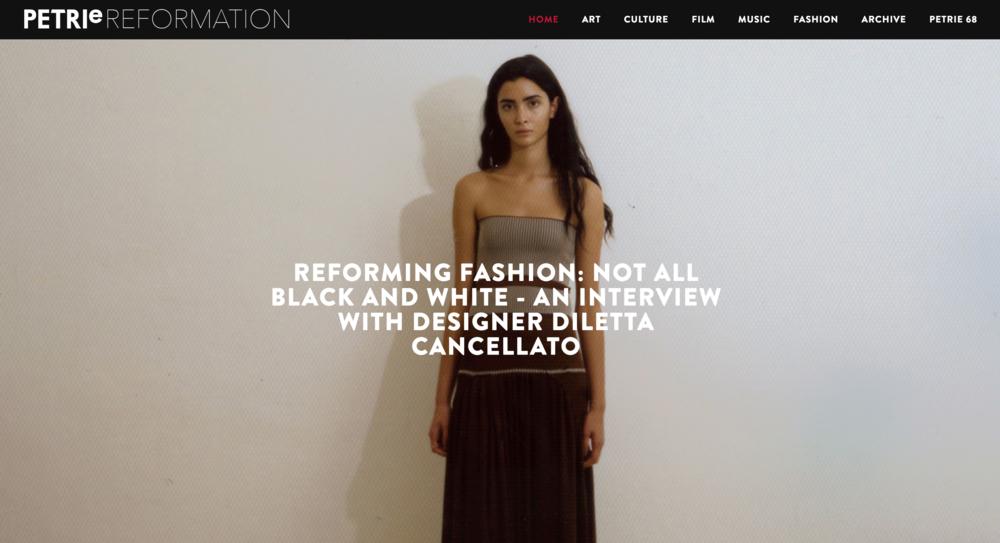 Diletta Cancellato Interview