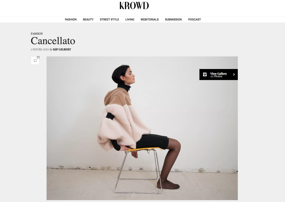 cancellato - Krowd Magazine