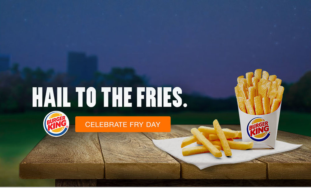 Burger King - National Fry Day