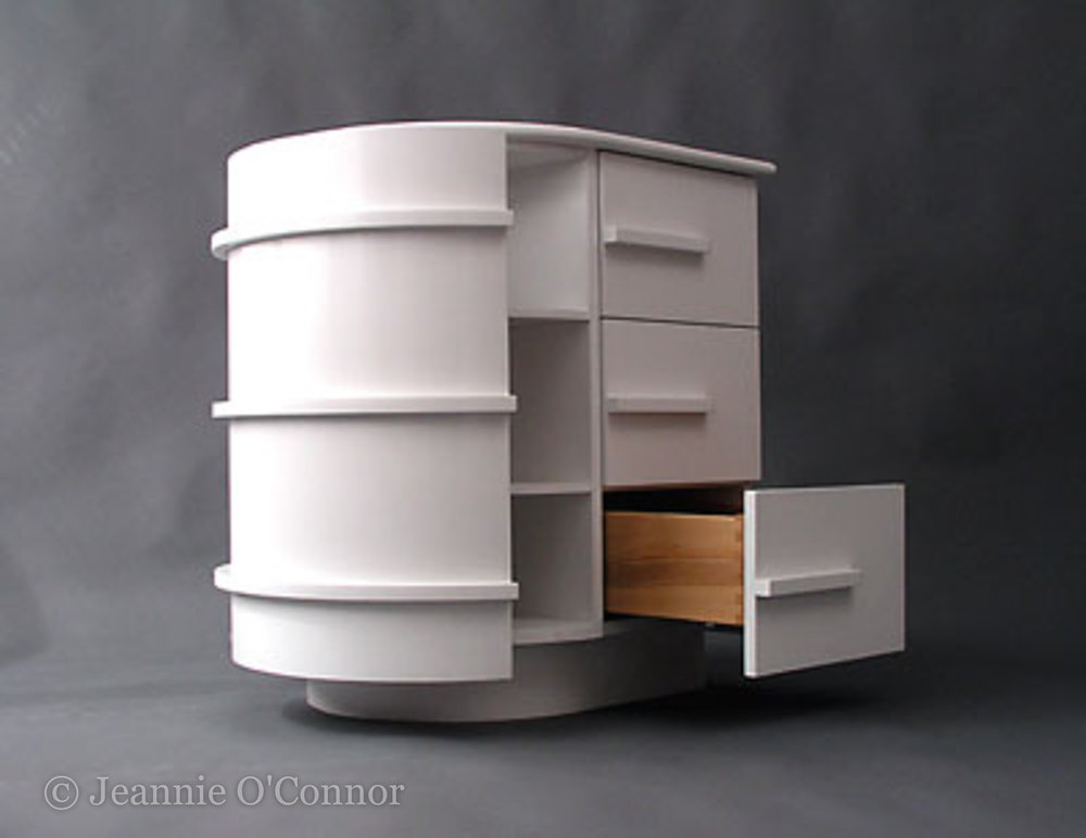 White wooden cabinet,