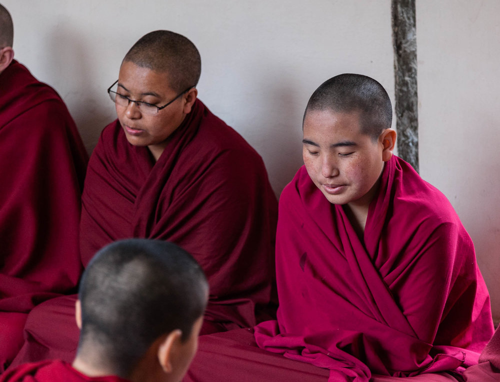 Meditation, chanting