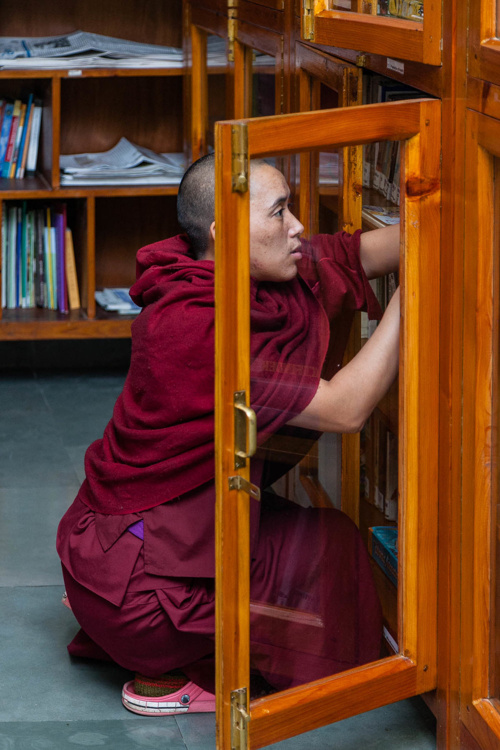 Searching the case for Tibetan texts