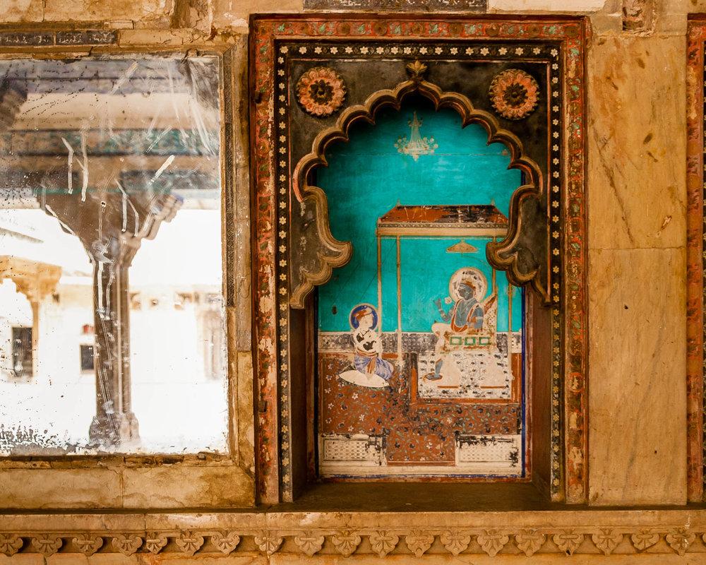Mirror-Niche, Bundi Palace