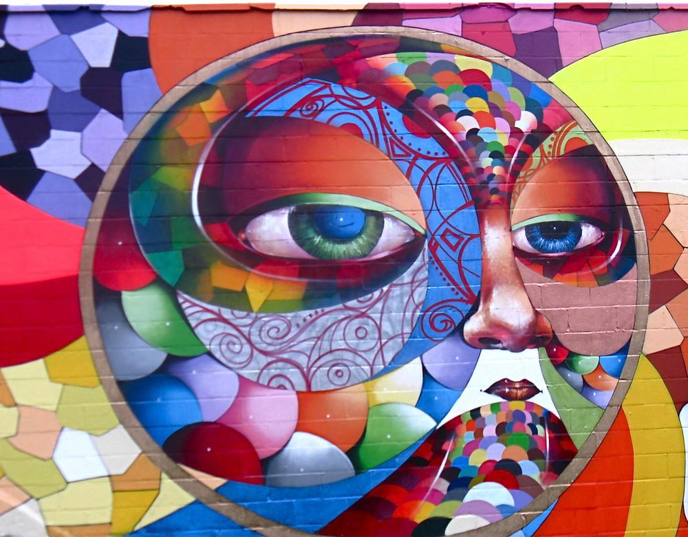 Chor Boogie,detail fromSherman Avenue Seasons mural in Washington, D.C.